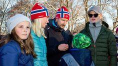 Princess Ingrid Alexandra, Crown Princess Mette-Marit, Crown Prince Haakon…