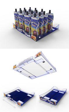 Shelf Tray Display - Caprisun Diseño de PLV | POP POS Retail Design Retail Design, Magazine Rack, Shelf, Tray, Display, Board, Home Decor, Display Stands, Point Of Sale