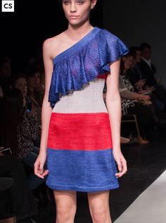Vestido Galilea, tejido en seda/ Galilea dress knitsilk.