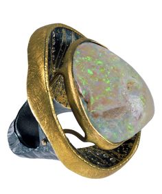 Michael Zobel Opal Ring.  See more Atelier Zobel pieces at link below.
