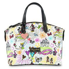 Tissus avec effigie - On peut en vendre ou pas? Dooney And Bourke Disney, Disney Dooney, Dooney Bourke, Disney Handbags, Disney Purse, Croquis Disney, Disney Outfits, Disney Fashion, Disney Clothes