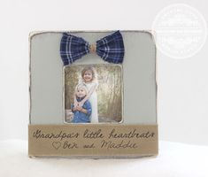 Father's Day GIFT Personalized Picture Frame by CrystalCoveDS $27.95