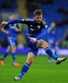 Aron Gunnarsson Blackburn Rovers, Cardiff City, Bluebirds, Iceland, Sky, Ice Land, Heaven