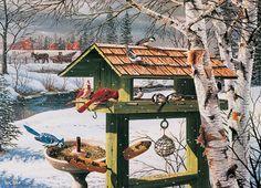 Cobble Hill Jigsaw Puzzles - Backyard Banquet