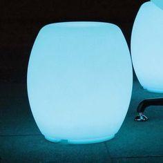 Macau Barrel Stool LED Light