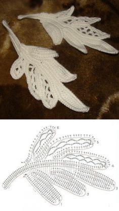 Watch The Video Splendid Crochet a Puff Flower Ideas. Wonderful Crochet a Puff Flower Ideas. Freeform Crochet, Crochet Art, Crochet Diagram, Thread Crochet, Crochet Motif, Crochet Leaf Patterns, Crochet Leaves, Crochet Designs, Crochet Puff Flower