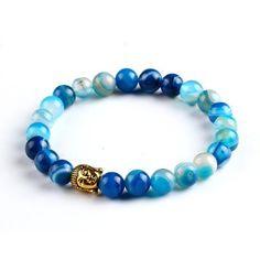 These gorgeous Lava Stone Buddha Bracelet's are one of a kind. #buddha #jewelry #chakra #stone RedRainBuddhaStore.com