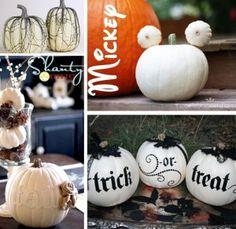 white pumpkin collage 2