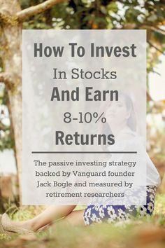 All About Index Fund Investing: How To Generate Returns - Stock Market Investing - Ideas of Stock Market Investing - Understand passive index fund investing the strategy backed by Jack Bogle of Vanguard and which has historically yielded annual returns. Stock Market Investing, Investing In Stocks, Investing Money, Dividend Investing, Investment Tips, Investment Quotes, Investment Property, Financial Tips, Financial Planning