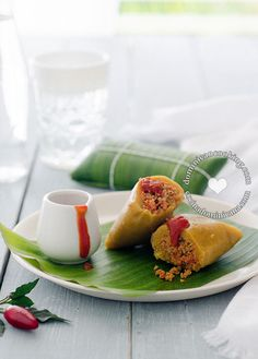 Pasteles en Hoja (Roots Pockets) - Puerto Ricans brought this savory recipe to the Domincan. lengthy creation process but so good!