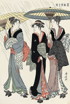 TORII Kiyonaga (1797-1861), Japan (woodblock print) 鳥居清長