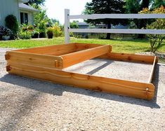 Cedar Raised Garden Bed Kit 3 Tier 23 Raised Planter Garden Gift Wooden … - All For Garden Cedar Raised Garden Beds, Raised Planter, Raised Beds, Large Outdoor Planters, Cedar Planters, Garden Trellis, Herb Garden, Rustic Outdoor Furniture, Tiered Garden