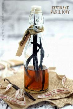 Bernika - mój kulinarny pamiętnik: Domowy ekstrakt waniliowy