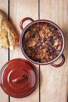 Chile con carne, un plato de cuchara ideal para invierno. Típico del sur de Estados Unidos y el plato regional por excelencia de Texas.