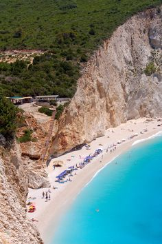 https://www.facebook.com/PoseidonHolidaysAndTours?ref=hl Porto Katsiki beach, Lefkada island ~ Greece