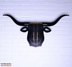 Europa creatieve houten buffel kop muur opknoping home decor, gesneden houten longhorn hoofd dier thema stijl moderne wanddecoratie in DHL/FedEx/ups/ems het verschepen, snel het verschepen(volgens de koper verzendadres, de verkoper selecteren een v van hout ambachten op AliExpress.com   Alibaba Groep