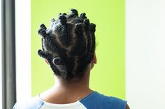 How I Use Flat Twists and Bantu Knots to Style my Natural Hair - The Feisty House   A Lifestyle Blog, Personal Style Blog and Natural Hair B...