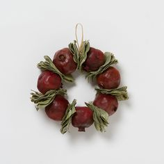 Pomegranate & Bay Wreath from terrain - this website has such beautiful wreaths. Merry Little Christmas, Christmas Holidays, Armenian Christmas, Christmas Table Decorations, Winter Decorations, Winter Holidays, Happy Holidays, Christmas Crafts, Christmas Stuff