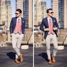 Dapper Way to wear the Waist Coat: Men Style Inspiration #menswear #menstyle #waistcoats #imforstyle #mens #fashion #Style- www.imforstyle.com