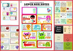 Fast Five: Awesome Lunch Box Notes