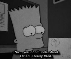Uploaded by Zahraa A. Find images and videos about quotes, sad and the simpsons on We Heart It - the app to get lost in what you love. The Simpsons, Simpsons Quotes, Sad Quotes, Movie Quotes, Life Quotes, Qoutes, Sad Wallpaper, Quote Aesthetic, My Mood