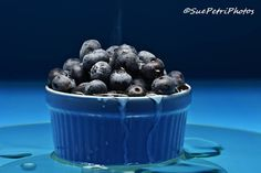 Bowl of blueberries, Fine art photograph, Food porn, Kitchen art, Market art, Blueberries, Still life photos, Blue, Fruit art, Fruit photos by SuePetriPhotos on Etsy #Blueberries #FineArtPhotography #StillLifePhotos #KitchenWallArt #BlueberryArt #FoodPorn #Picturesoffruit