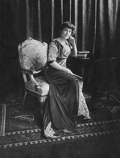 Ellen Axson Wilson. First wife of Woodrow Wilson. She died in 1914, his second year in office.