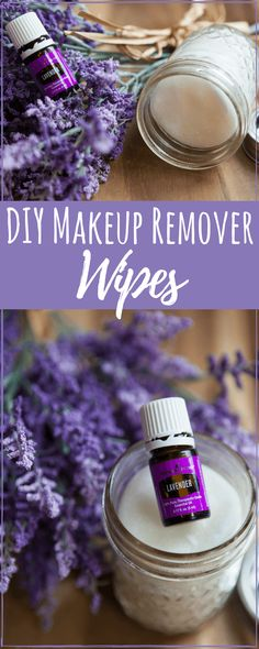 DIY beauty recipes do not have to be complicated to be effective. Using lavender essential oil you can have DIY makeup remover wipes in an instant. #antiaging#AntiWrinkle#diyskincare#moisturizing#skincare