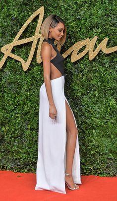 Jourdan Dunn Photos - Jourdan Dunn attends the British Fashion Awards 2015 at London Coliseum on November 23, 2015 in London, England. - British Fashion Awards 2015 - Red Carpet Arrivals
