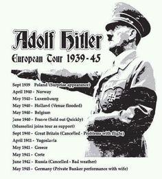 Adolf Hitler Tour lol