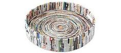 Love it! Recycle magazines into tray