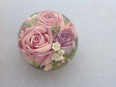 """Our lovely 3.5"""" multi flower designs enclosing a lovely variety of asst flowers"""
