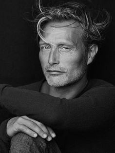 New photo of Mads Mikkelsen from Marc O'Polo