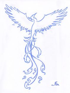 """A phoenix...in pretty colors...with Maya Angelou's famous words """"...still I'll rise..."""""""