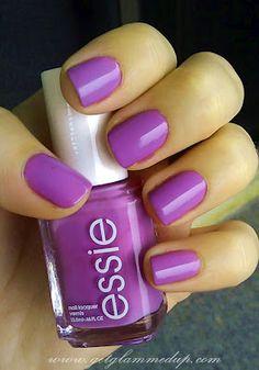 Essie Play Date purple nail polish