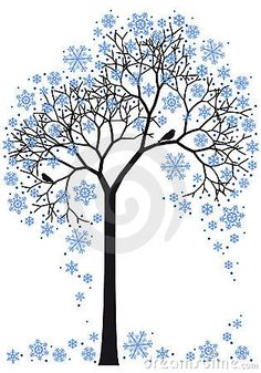 winter tree. this is awesome.