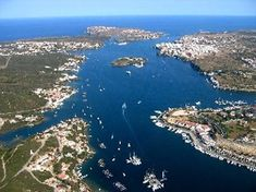 Mahon in Menorca, an island off the coast of Spain belonging to Spain