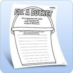 Bucket filling class!! on Pinterest | Bucket Fillers, Buckets and Fill ...