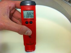 Using a pH Meter for Cheese Making
