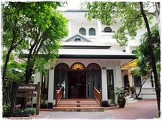The Boutique Hotel on Nimmanhaemin road, Chiangmai Thailand. Average of pricing 1,998-4,999 Baht per room and including American Breakfast for 2 persons.   www.yesterday.co.th Tel. +66 61-492-7110