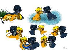 sasuNARU Clawshawt - deviantART   deviantART: More Like SasuNaru Lion comic YAY by *Clawshawt