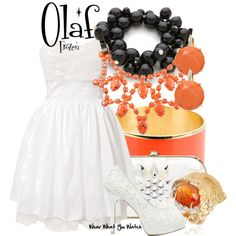 "#OLAF ""Frozen"" by wearwhatyouwatch on Polyvore"