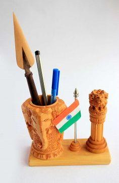 Handcrafted Wooden Pen Holders