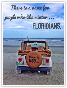 Winter in Florida.... very likable!