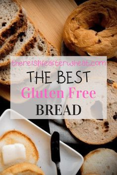 Chances are, if you're gluten free then you're missing BREAD. Don't worry, we've got your back with the best gluten free bread recipes! All of these tried-and-true recipes have been tested in our kitchen dozens of times, and have easy to follow instructions. Good Gluten Free Bread Recipe, Gluten Free Rolls, Best Gluten Free Desserts, Wheat Free Recipes, Gluten Free Flour, Foods With Gluten, Bread Recipes, Gluten Free Sandwiches, Dairy Free Options