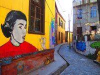 Valparaiso : Scenes from Chile: Santiago and Valparaiso's Street Art