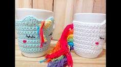 Amigurumi Unicornio Tutorial : Canal crochet marco unicornio tutorial yarn