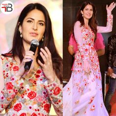 Get the celeb look like Katrina Kaif. Ethinic Wear, Net Gowns, Ethnic Gown, Gowns Online, Katrina Kaif, Off White, Celebs, India, Red