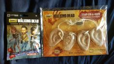 LootCrate EXCLUSIVE The Walking Dead Ears Soap-On-A-Rope & Blind Bag Figurine #McFarlaneToys