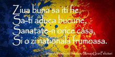 Felicitari de Ziua Nationala! Trimite si tu o felicitare de la multi ani pentru romani de ziua nationala! Click pentru a alege o felicitare!